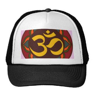 Om Retro Symbol Inner Peace Design! Hat