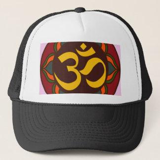 Om Retro Symbol Inner Peace Design! Trucker Hat