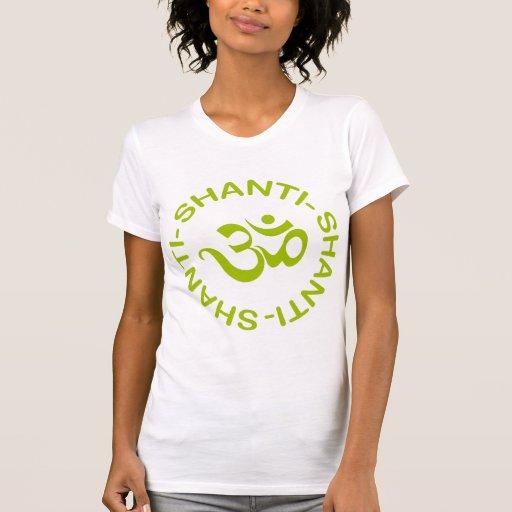 Om Shanti Shanti Shanti Women's T-Shirt