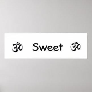 Om Sweet Om Poster