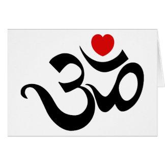Om Symbol Card
