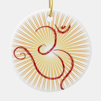 OM symbol Christmas Ornament