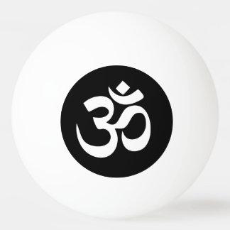 Om Symbol Circle Ping Pong Ball