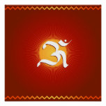 OM symbol - Poster