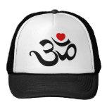 Om Symbol Trucker Hats