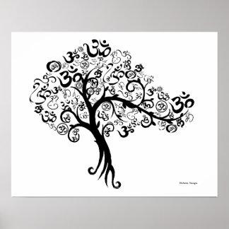 OM Tree Poster