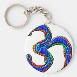 om V2 - Universal Healing Mantra Keychain
