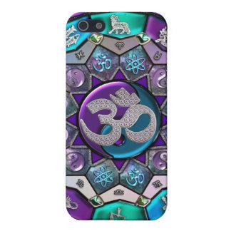 OM Yin-Yang Zodiac Mandala Background Case Case For iPhone 5/5S