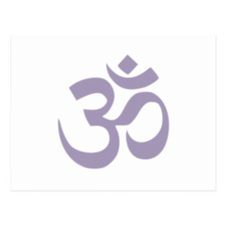 Om - Yoga Postcards