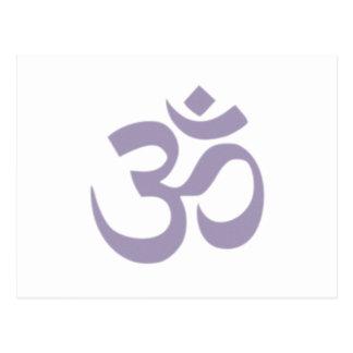 Om - Yoga Postcard