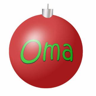 Oma Christmas Ornament Photo Sculpture Decoration
