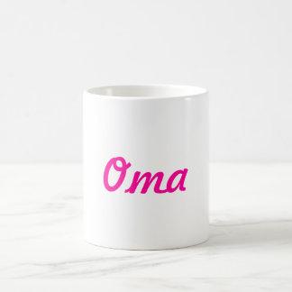 Oma Coffee Mug