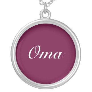 Oma Dark Purple Pendants