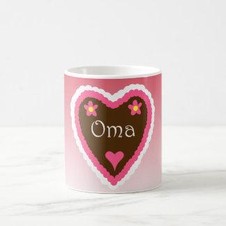 Oma Lebkuchenherz German Grandma Gingerbread Heart Coffee Mug
