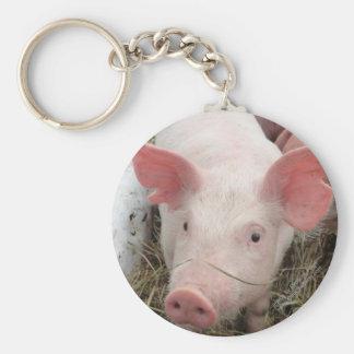Omache Farm Pork Key Chains