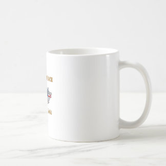 Omaha Beach 1944 Basic White Mug