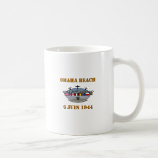 Omaha Beach 1944 Mugs