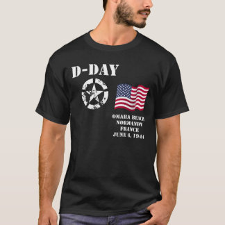 Omaha Beach, Normandy T-shirt