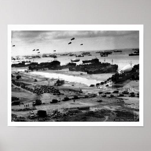 Omaha Beach Poster