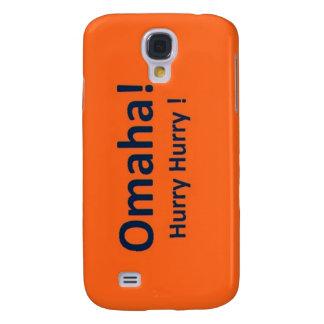 OMAHA case for Samsung Galaxy S4 DENVER BRONCOS Galaxy S4 Case