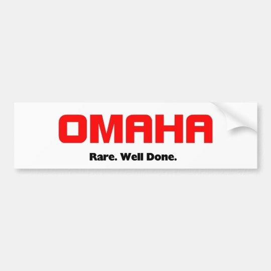 Omaha, Nebraska Bumper Sticker