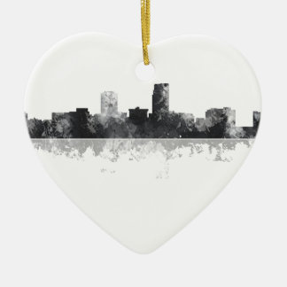 OMAHA NEBRASKA SKYLINE CHRISTMAS ORNAMENT