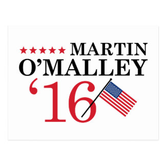 O'Malley For President Postcard