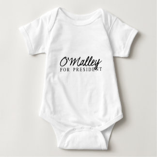 O'Malley For President Signature Baby Bodysuit
