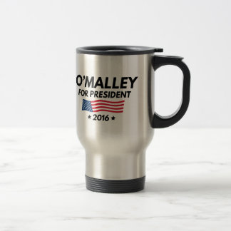 O'Malley For President Travel Mug