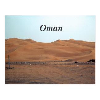 Oman Desert Postcard