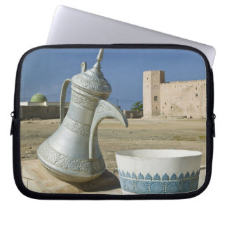 Oman, Dhofar Region, Mirbat. Large Water Carafe Laptop Sleeve