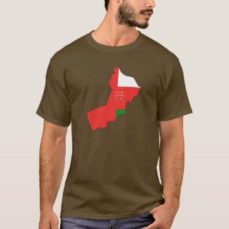 Oman flag map T-Shirt