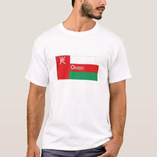 Oman flag souvenir tee shirt