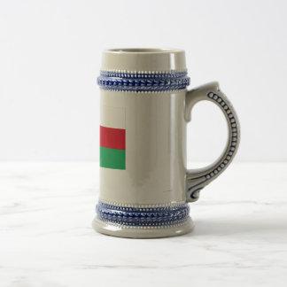 Oman Flag with Name in Arabic Mugs