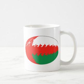 Oman Gnarly Flag Mug