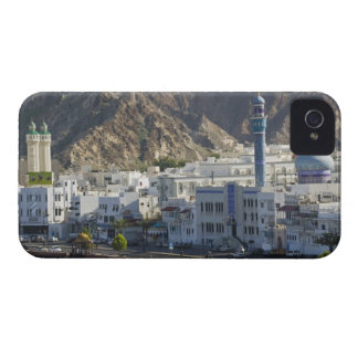 Oman, Muscat, Mutrah. Buildings along Mutrah iPhone 4 Case-Mate Cases