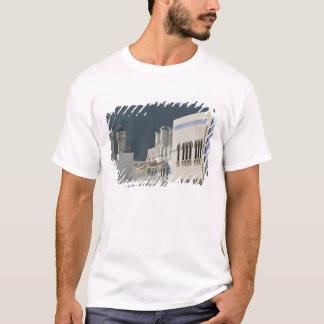 Oman, Muscat, Mutrah. Mutrah Corniche Mosque and T-Shirt