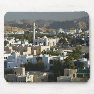 Oman, Muscat, Qurm. Buildings of Qurm Area / 2 Mouse Mat