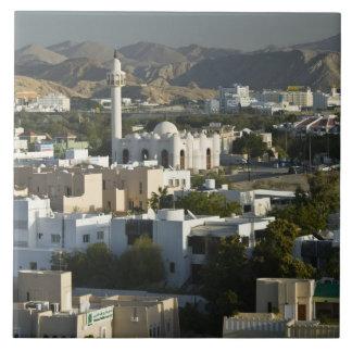 Oman, Muscat, Qurm. Buildings of Qurm Area / 2 Tile