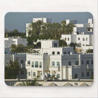 Oman, Muscat, Qurm. Buildings of Qurm Area / Mouse Pad