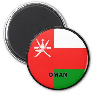 Oman Roundel quality Flag Fridge Magnet