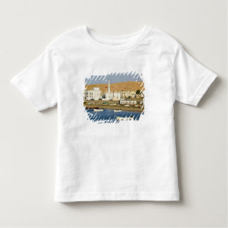Oman, Sharqiya Region, Sur. Ayajh Town, Dusk Toddler T-Shirt