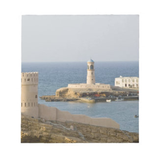 Oman, Sharqiya Region, Sur. Towers of Al Ayajh Notepads