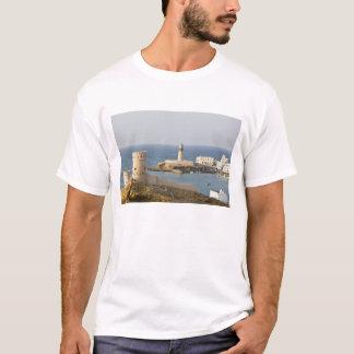 Oman, Sharqiya Region, Sur. Towers of Al Ayajh T-Shirt