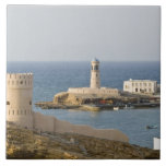 Oman, Sharqiya Region, Sur. Towers of Al Ayajh Tile