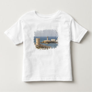 Oman, Sharqiya Region, Sur. Towers of Al Ayajh Toddler T-Shirt