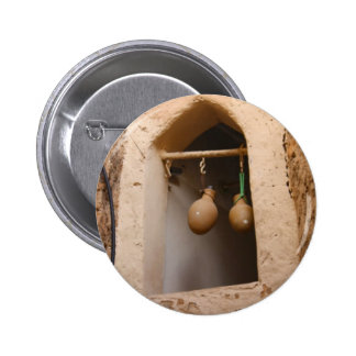 Oman - Water Bottles in the Window Pinback Buttons