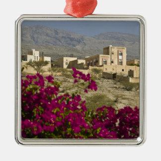 Oman, Western Hajar Mountains, Al Hamra. Town Christmas Ornament
