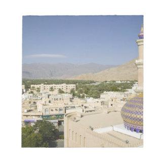 Oman, Western Hajar Mountains, Nizwa. Nizwa Notepad