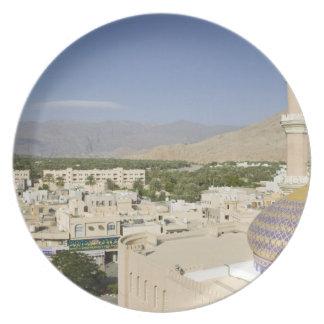 Oman, Western Hajar Mountains, Nizwa. Nizwa Plate